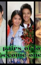 Two pairs of Love become one (Kathniel) by belluigi