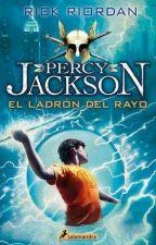 Los Dioses leen Percy Jackson y el ladrón del rayo  by amandasbmm
