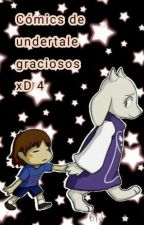 Comics de undertale graciosos xD 4 by julia-undertale