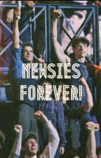 Newsies cast x reader by the_king_of_Brooklyn