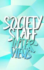 Society Staff Interviews by society19
