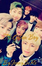 The Golden Boy (Bts x Male! reader) by JennyBeRe