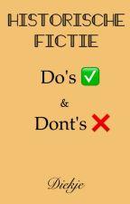 Historische Fictie: Do's en Dont's by Diekje