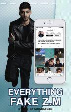 Everything Fake | Z.M by Paulcia533