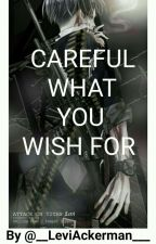 Careful what you wish for | Levi X Reader [ Agent Levi x Reader ] [Completed] by __LeviAckerman___