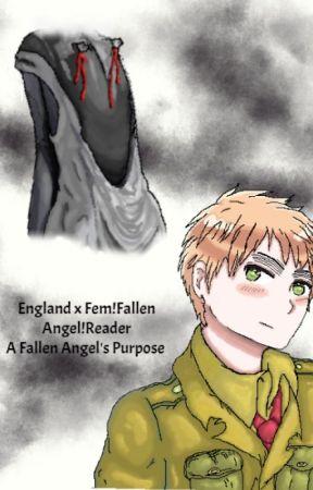 England x Fallen Angel!Reader by Ellz12