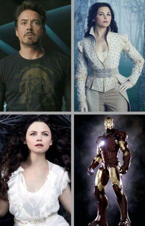 Snow (Snow White x Tony Stark) by insaneredhead