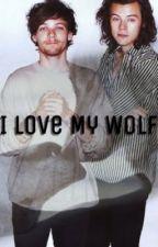 I love my wolf | l.s by larrryelindo