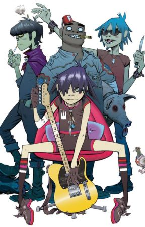 The Origin of the Gorillaz by xoavry