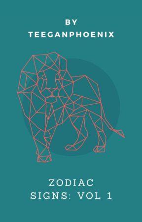 Zodiac signs: vol 1 by TeeganPhoenix