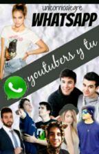 whatsapp  youtubers y tu  by Gamer-Alex