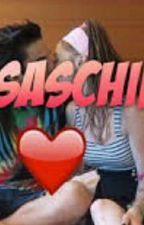 eccoti~lasabrigamer e anima~#saschina by lena9aa