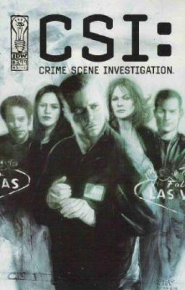 Yes, that's right... I'm a Crime scene Investigator. I like the bloody bits!