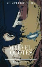 Marvel Quotes by Wumplebottoms