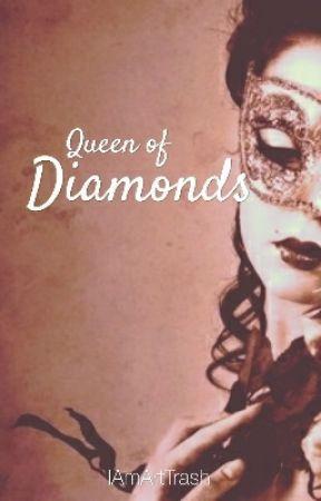 Queen of Diamonds by IAmArtTrash