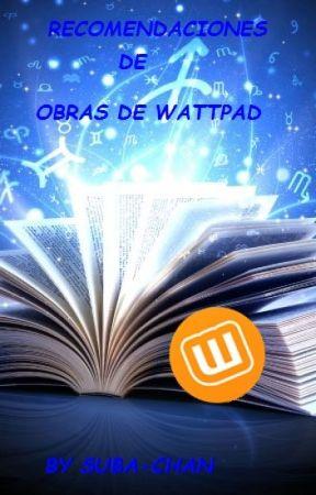 RECOMENDACIONES DE OBRAS by SaritaRamos353