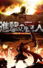 Shingeki no Kyojin la rosa roja  by RubiSamano