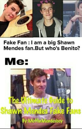 The Ultimate Guide To Shawn Mendes' Fake Fans by MuffinMendesboy