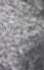 A Zombie Apocylpes The Beginning Of The End by I_See_Fire
