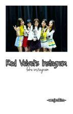 Red Velvet's Instagram; AU by wenjenkim