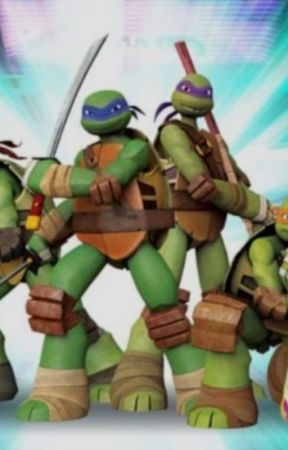 Different tales of the tmnt friendship shots - Leo's answer