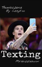texting | justin by czajkoo