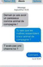 échange SMS drôle et clash  by Mlle-Secret