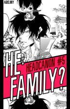 They, Family? (KHR Headcanon) by -idxris