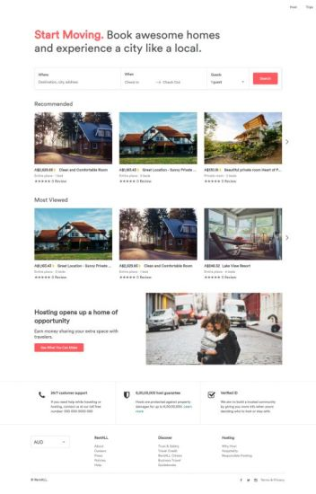 """Create your own """"SUPERCHARGED"""" Rental Websites with RentALL-Airbnb Clone Script"""