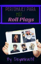 Personajes Para Mis Roll Plays by Deyanira038