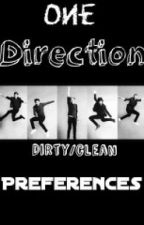 One Direction Dirty/clean Preferences by Heather-styles