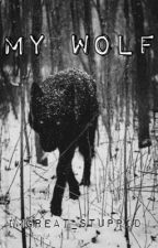 My wolf by imgreat_stuppid