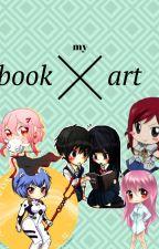 My book art by una_mina_cualquiera