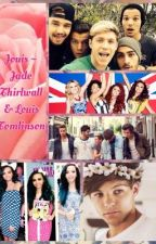 Jouis ~ Jade Thirlwall and Louis Tomlinson by hemmoxbrooks