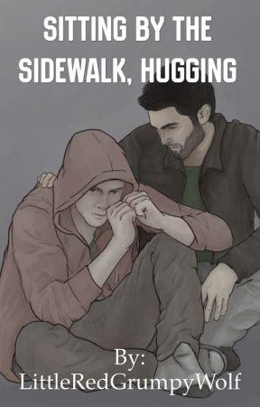 Sitting By the Sidewalk, Hugging [Sterek] by itsmollyemne
