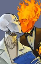 Gaster x Grillby (Grillster) by teganisnotfunny123