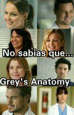 ¿No sabia que? Grey's Anatomy 2 by aitiferrandez