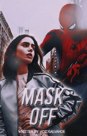 mask off ( peter parker ) by voidsalvahoe