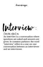 Interview [Fermé] by Diamoniaque