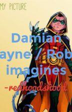 Damian Wayne/ Robin imagines by redhoodshood