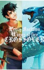 Percy Jackson wings of fire crossover by fluffy123467890