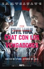 Chat con los Vengadores//Whatsapp avengers by black_swan10