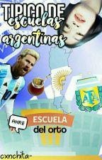 Típico de Escuelas Argentinas 🔵⚪🔵 by celerry-
