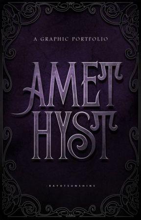 Amethyst - Graphic Portfolio by -rayofsunshine