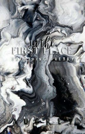 in the first place ✓ by handwrite