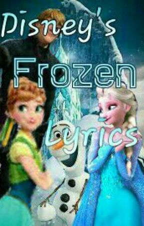Disneys Frozen Lyrics