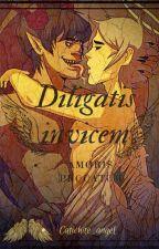 Diligatis invicem: Amoris Peccatum (Studoc AU) by Catwhite_angel