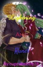 Lightning and Runes~~~Fraxus by cupcakekitty78