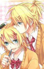 [ Rin Len ] I love you !!!My litte girl !!! by Kagamine_Tori
