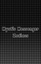 ♡Mystic Messenger Zodiacs by xoxo-Princess